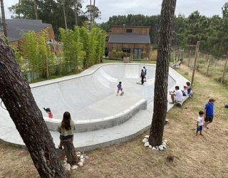 Het echte skatepark
