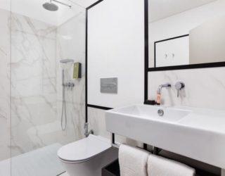 badkamer van het hotel