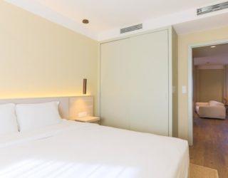 Slaapkamer van het hotel