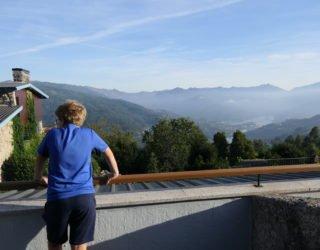 terras met mooi uitzicht
