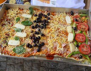 eigen pizza klaarmaken