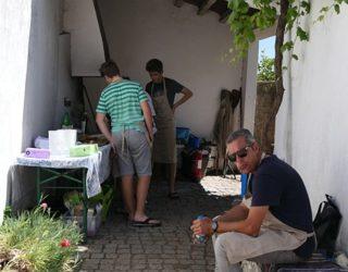 Kookles in een authentiek dorpje
