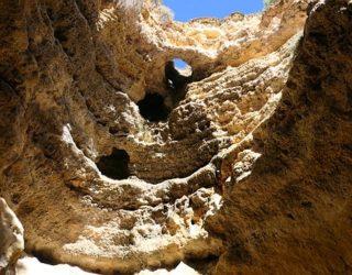 de prachtige grotten van de Algarve