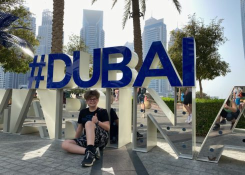 Het nieuwe Dubai met kinderen