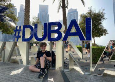Introductie in Dubai, meet & greet met Belgen