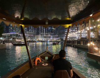 Met de boot naar de fonteinen